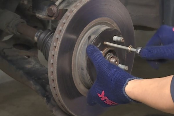 Nsk How To Replace A Wheel Bearing Tutorial With Video
